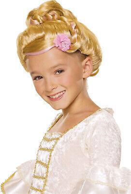 Blond Sophisticated Prinzessin Mädchen Kind Cinderella Kostüm - Cinderella Kostüm Perücke