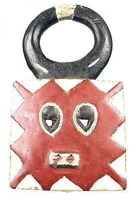 Art African Tribal - Antique Mask Passport Goli Baoulé - Africa - 28 Cm