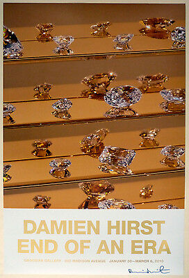 Damien HIRST - SIGNIERT - End Of An Era - Gagosian Gallery 2010 - handsigniert