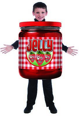 Jelly Jar Boys Child Funny Food Halloween Costume Tunic](Funny Halloween Kid Costumes)