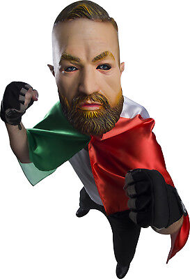 Irish Pride Ufc Mma Fighter Boxer Connor Adult Costume Mask](Mma Fighter Halloween)