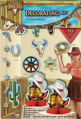 Way Out West Western Cowboy Themed Party Decorations