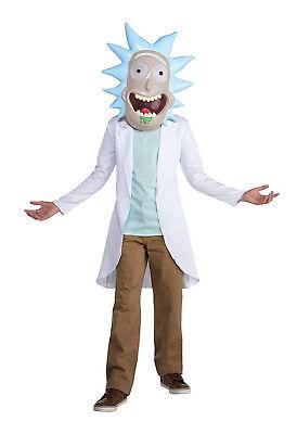 ck Und Morty Tv-Show Verrückter Wissenschaftler Kostüm (Jungen Wissenschaftler Kostüm)