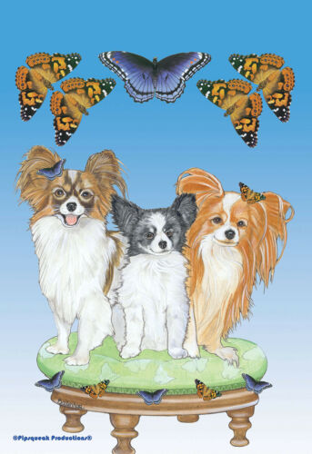 Pipsqueak House Flag - Papillon 49986