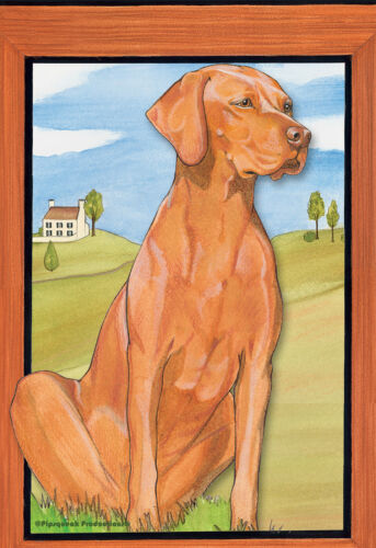 Pipsqueak House Flag - Vizsla 49881