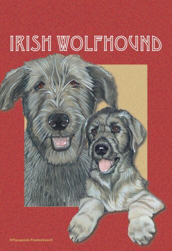 Pipsqueak House Flag - Irish Wolfhound 49500