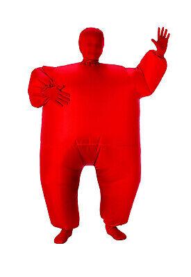 Rot Aufblasbare Aufblasfigur Kind Kinder Körper Overall Kostüm - Aufblasbarer Körper Kostüme
