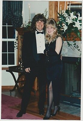 Found PHOTO Young Couple In Fancy Outfits Tux & Dress w/ Slit For Event](Fancy Dress For Couples)
