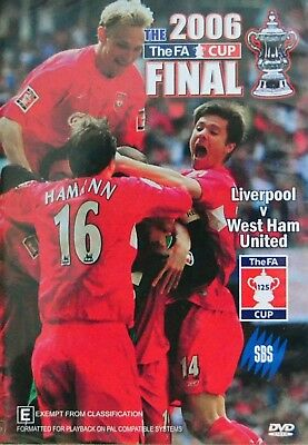 The 2006 THE FA Cup FINAL DVD Region 4 (liverpool vs West ham united) (Liverpool Vs West Ham Fa Cup Final)