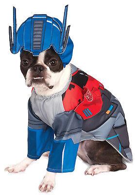 Transformers Pet Dog Cat Deluxe Optimus Prime Halloween Costume - Optimus Prime Dog Costume