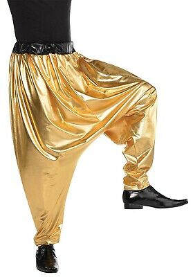 Hip Hop Harem Herren Erwachsene Mc Hammer Baggy Kostüm Hose ()