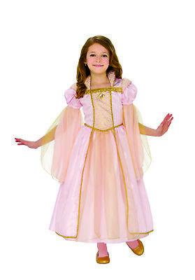 Hübscher Rosa Prinzessin Mädchen Renaissance Mittelalterlich Halloween Kostüm