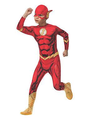 Blitz Dc Comics Superheld Jungen Barry Allen Halloween Kostüm (Alle Jungen Halloween Kostüme)