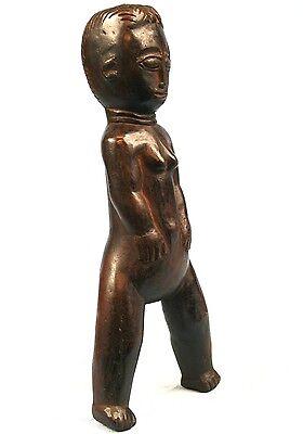 Art African Tribale - Antique Slingshot Sling Slingshot Agni Anyi - 19 Cm
