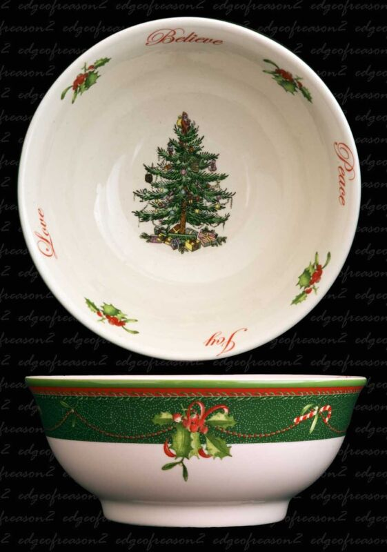 SPODE+CHRISTMAS+TREE+2011+ANNUAL+COLLECTION+BOWL+NUTS+CANDIES+SWEETS