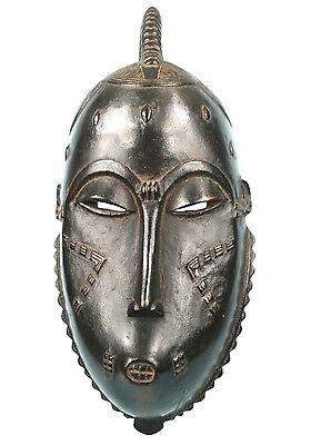 Art African Ethnographic - Antique Mask Yohoure Scorpion - Great Finesse