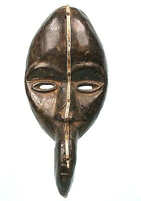 Art African Tribal Arts Premiers - Mask Dan Mahou the Long Bec - 30 Cm