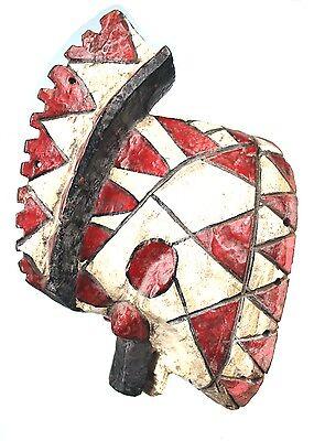 Art African Tribal Arts Premiers - Antique Mask Mossi Bird - 28 Cm