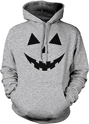 Pumpkin Face - Easy Halloween Costume Hoodie Sweatshirt - Easy Pumpkin Halloween Costume
