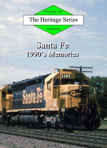 Train DVD: Santa Fe 1990s Memories