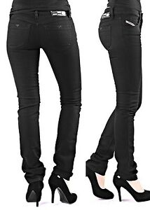 diesel livy 008z1 8z1 damen jeans hose schwarz r hrenjeans. Black Bedroom Furniture Sets. Home Design Ideas