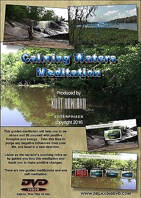 Calming Waters Guided Meditation  For Happines Health    Wellness Dvd
