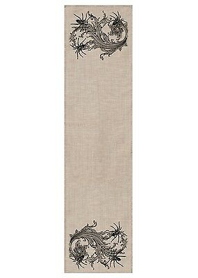Heritage Lace HALLOWEEN Table Runner Gothic SPIDERS 16x54 Made in - Heritage Lace Halloween