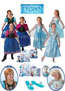 SALE-Kids-Licensed-Disney-Princess-Frozen-Anna-Elsa-Girls-Fancy-Dress-Costume