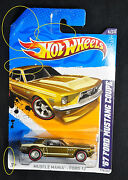 2012 Hot Wheels Super Treasure Hunt 67 Mustang