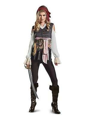 Captain Jack Sparrow Female Classic Adult Costume Size L