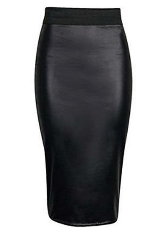 Leather Pencil Skirt | eBay