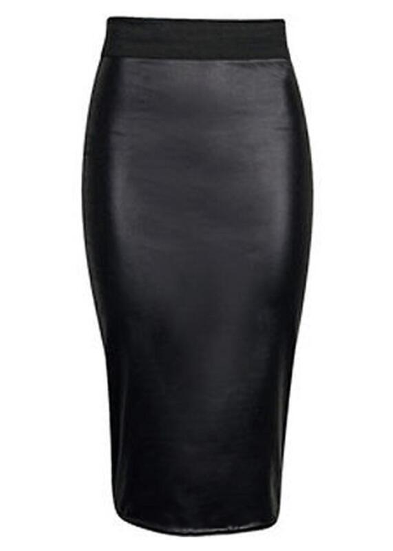 Leather Pencil Skirt | eBay