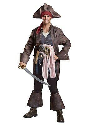 Disney's Captain Jack Sparrow Pirates / Caribbean  Costume (Plus Size 50-52) - Jack Sparrow Disney Costume