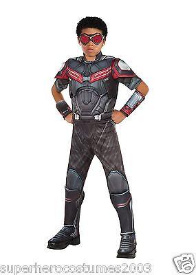 Captain America Civil War Falcon Costume Marvel Comics 8-10 Rubies 620599