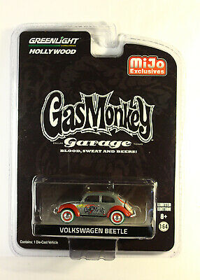 GreenLight GREEN MACHINE Volkswagen Beetle MiJo PROMO Gas Monkey Garage CHASE