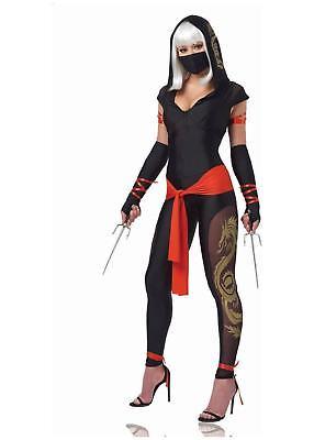 Warrior Costume Female (Ninja Warrior - Adult Female Ninja)