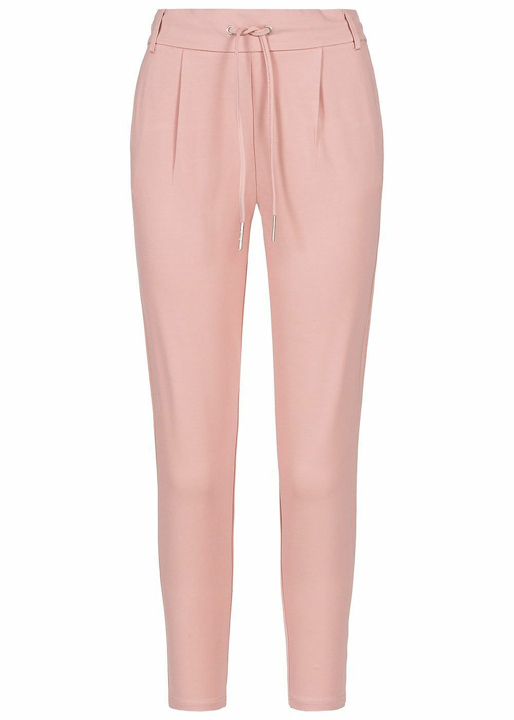 40% OFF B19072913 Damen Only Hose Poptrash Pants 2-Pockets Tunnelzug smoke rosa