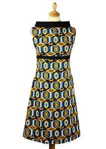 NEW-RETRO-SIXTIES-INDIE-GEOMETRIC-60s-70s-MOD-DRESS-Vintage-ACE-DRESS-MC111