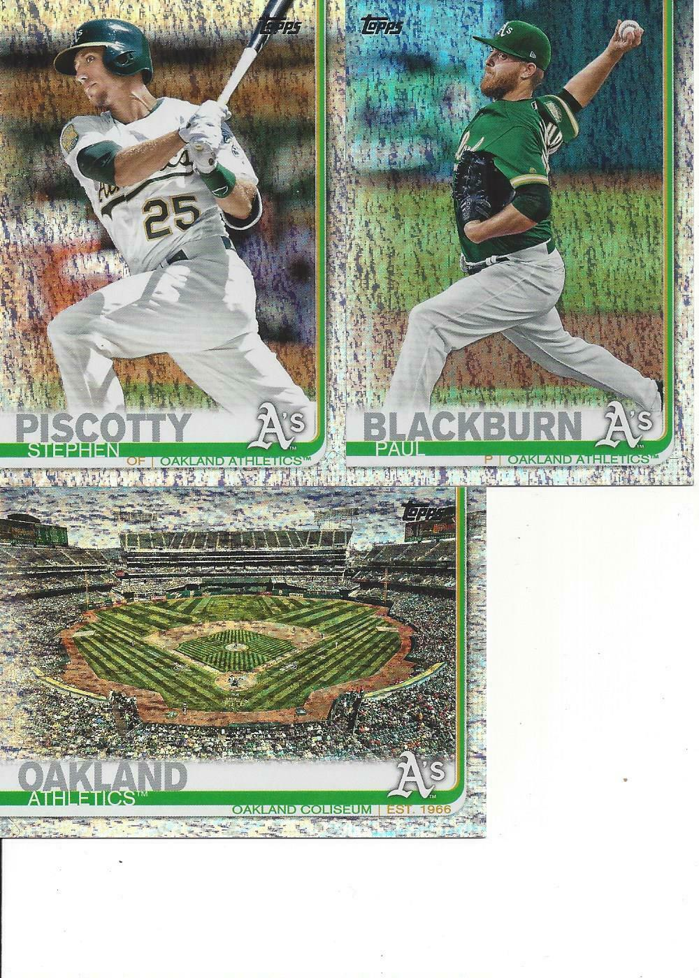 2019 Topps Factory Only Stephen Piscotty 131/162 66 Oakland Athletics - $1.95