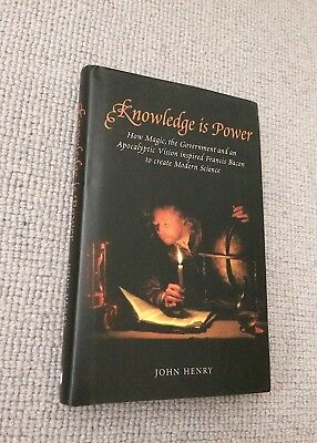 John Henry KNOWLEDGE IS POWER hardback 2002 1st ed Icon Books NrFine         Kno