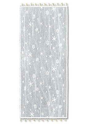 Heritage Lace Table RUNNER Wind Chill 14x72 White