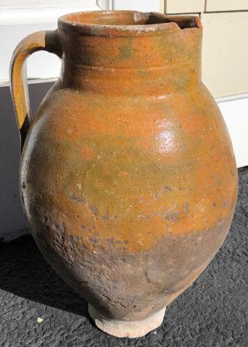 Antique Spanish Terra Cotta Urn