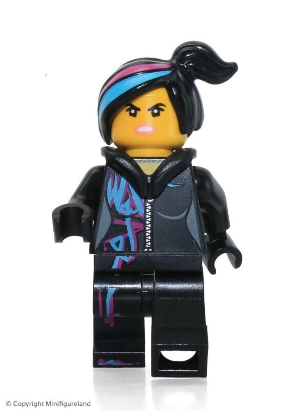 The Lego Movie Minifigure Wyldstyle Open Mouth Set 70819 Ebay