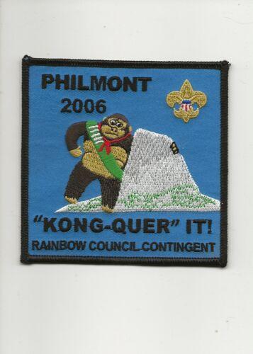 RAINBOW COUNCIL / 2006 PHILMONT CONTINGENT patch - Boy Scout BSA A132/7-24
