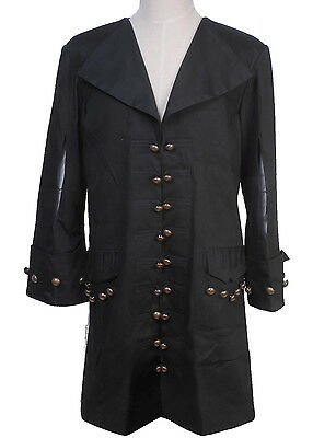 Pirates of the Caribbean Barbossa Jacket Halloween Cosplay Costume - Barbossa Halloween Costume