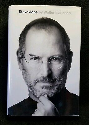 Steve Jobs by Walter Isaacson FIRST EDITION Hardcover Book