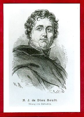 Franz.Maréchal de l'Empire,Nicolas Jean de Dieu Soult,Napoleonische Epoche