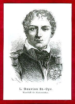 Franz.Maréchal de l'Empire,Laurent Gouvion Saint-Cyr,Napoleonische Epoche