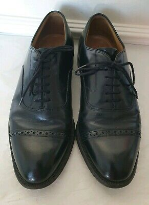 Johnston & Murphy Aldrich II Cap Toe Leather Men's Shoes UK8.5 US9.5 EU42.5 $279