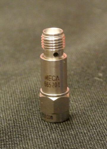1 Piece MECA 665-20-1 18GHz 20DB 2W 50 Ohm SMA RF Coaxial Attenuator